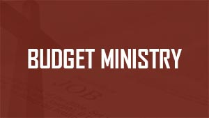 Budget Ministry