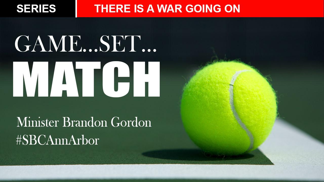 Game.Set.Match   Minister Brandon Gordon